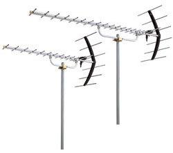 TVアンテナ新設 2階建て迄 UHF20素子+UHF20素子